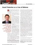 Asset Protection as a Line of Defense